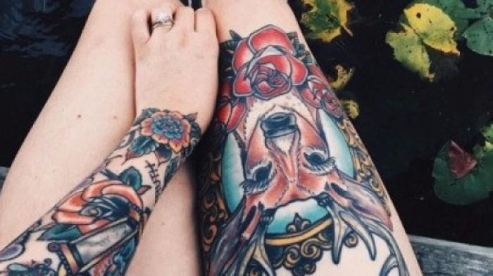22 самых крутых татуировок с цветами