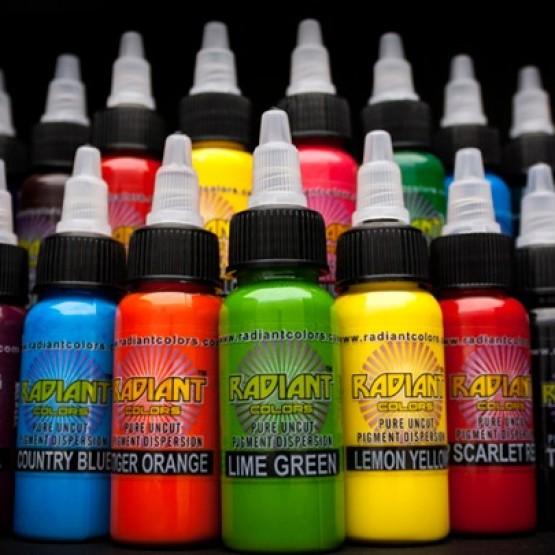 Тату краски Radiant Colors