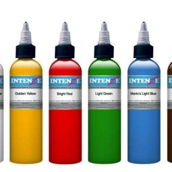 Тату краски Intenze ink