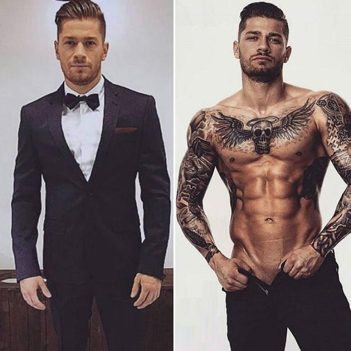 Фото модных тату для мужчин