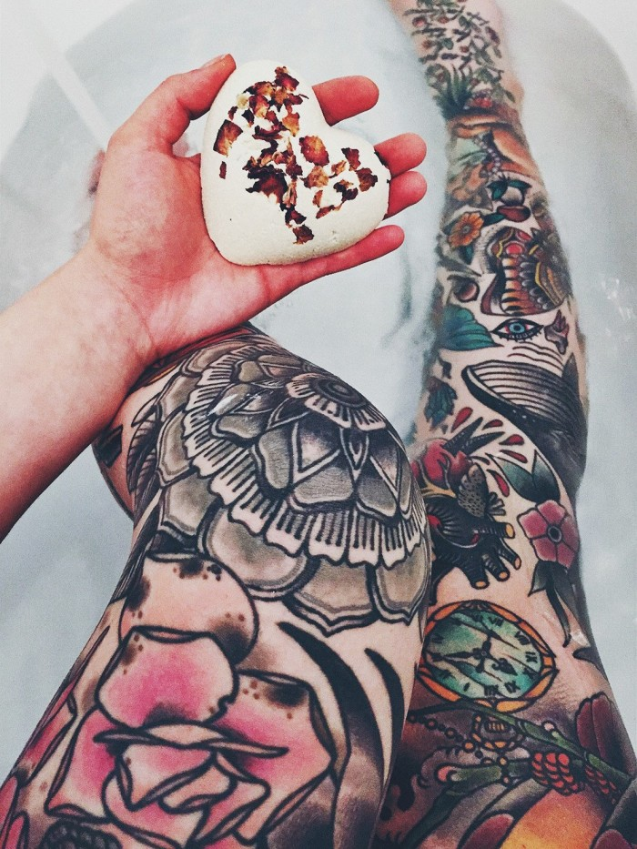 Татуировка часовой механизм