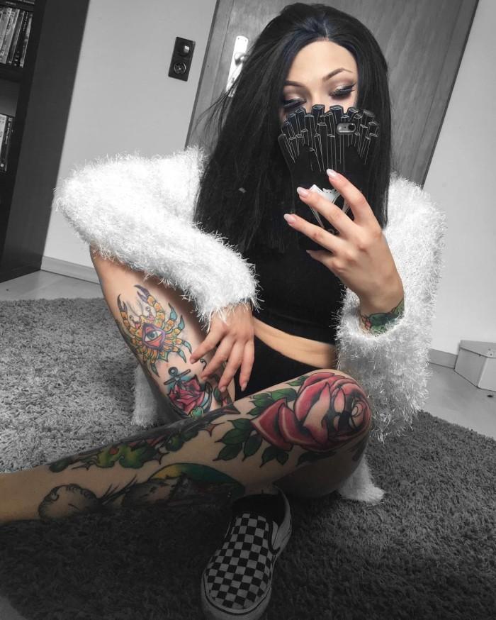 Стиль татуировки нео-традишнл