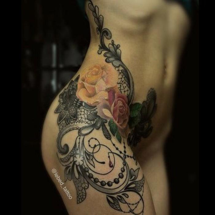 Татуировки на лобке